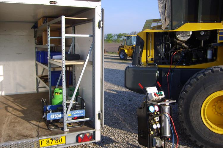 Service og reparationer af airconditionanlæg